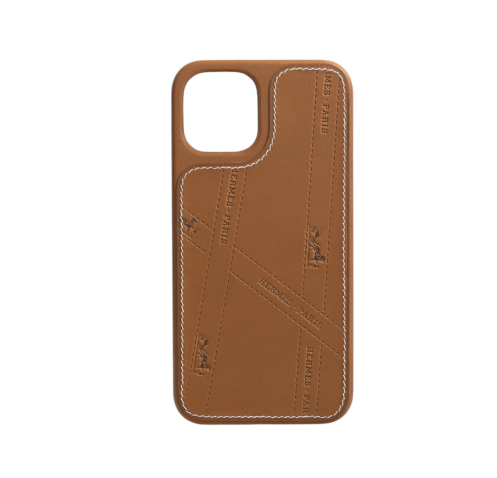hermes-leather-phone-case-designer-iPhone-12-Pro-Max
