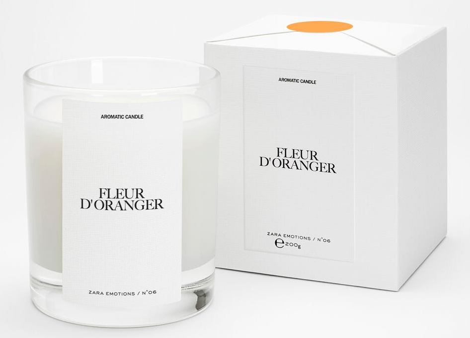 Zara scented candle