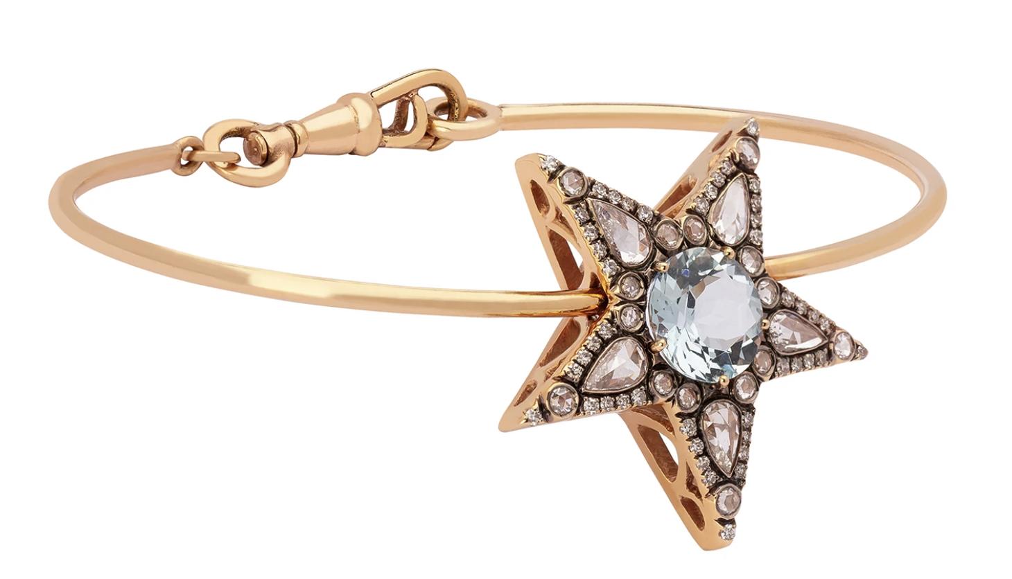 SELIM MOUZANNAR Istanbul Bracelet - Aquamarine, $6,480