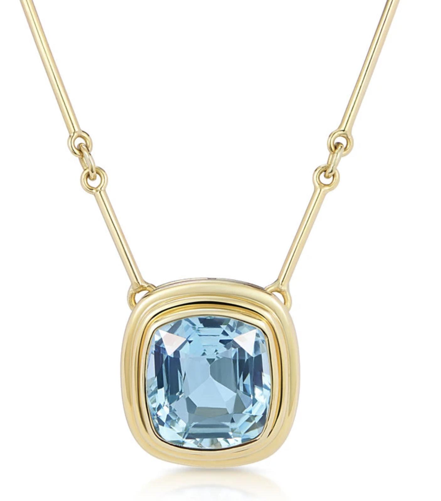 Minka Jewels Athena Aquamarine Necklace, £6,250.00