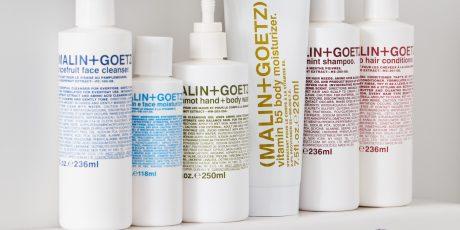 malin + goetz skincare routine