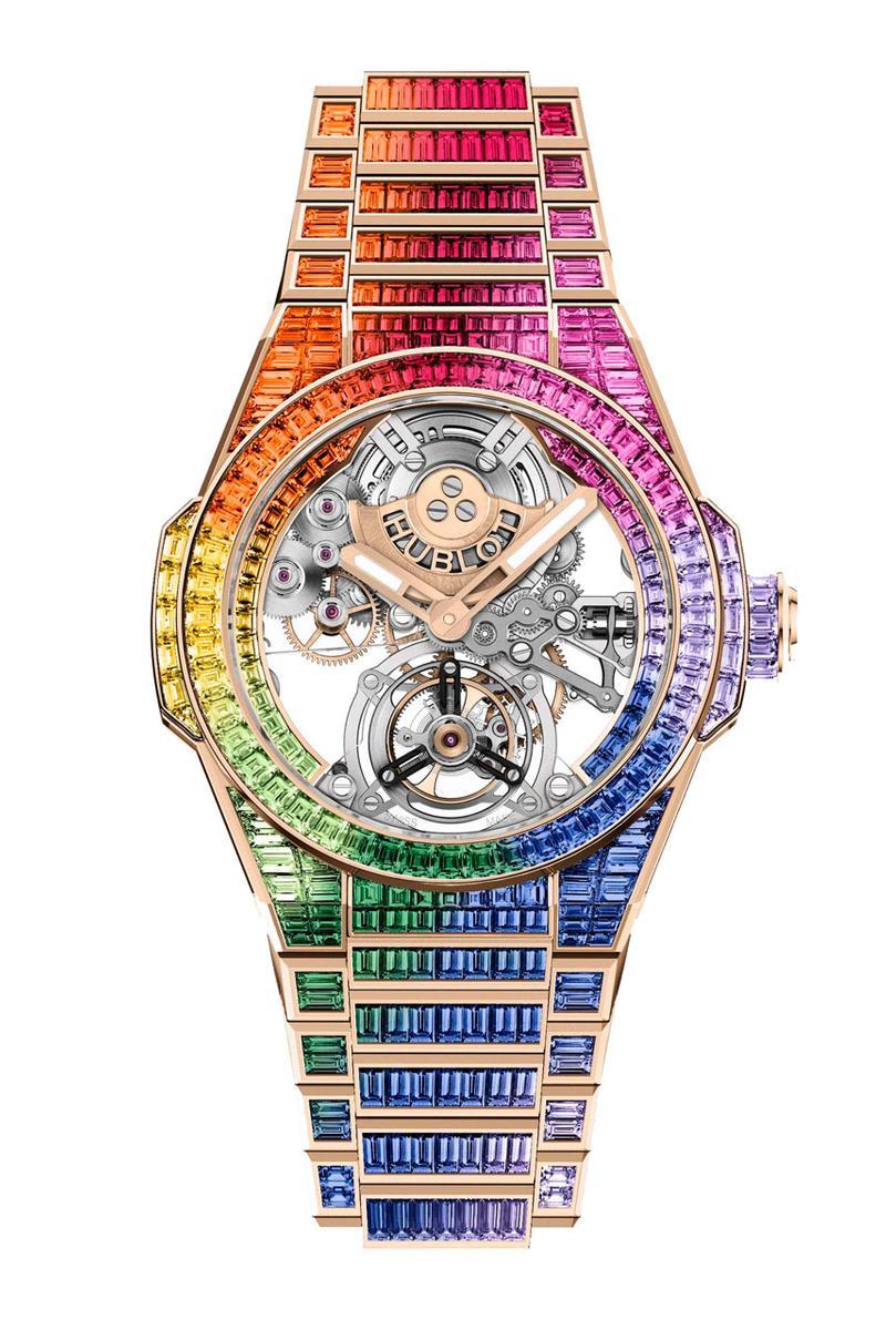 Hublot-Tourbillion-multi-coloured-watch